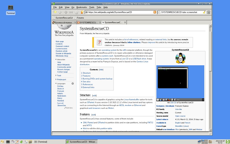 SystemRescueCD – Wikipedia