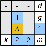 tentaizu_4x4_example_solved_partially