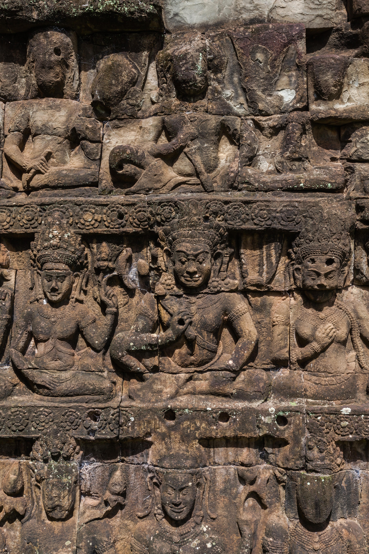 File Terraza De Los Elefantes Angkor Thom Camboya 2013 08