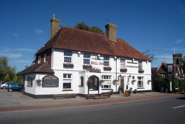 The Bull Inn, Sissinghurst Road, Sissinghurst, Kent - geograph.org.uk - 1479055