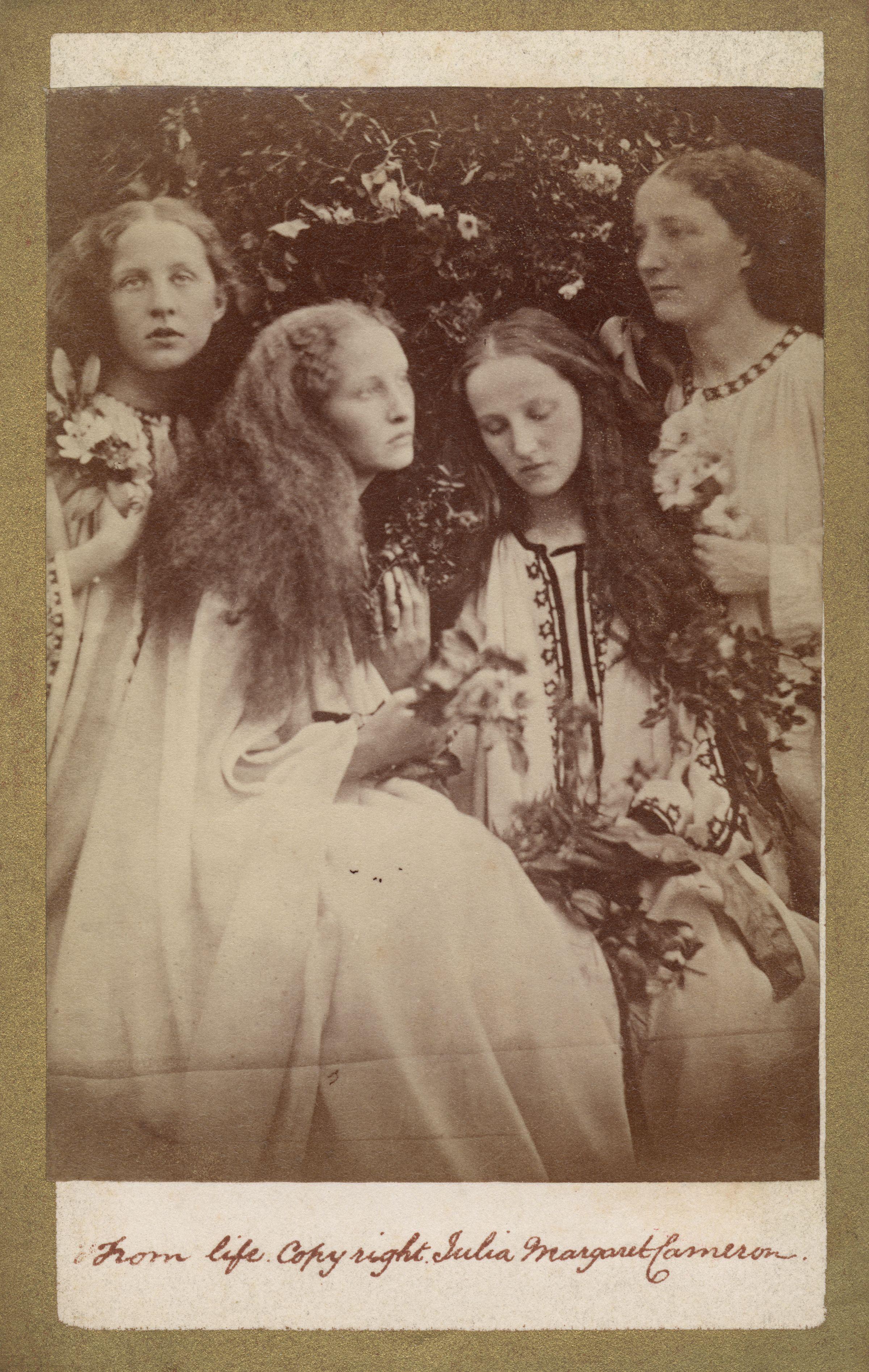 File:The Rosebud Garden of Girls by Julia Margaret Cameron.jpg ...