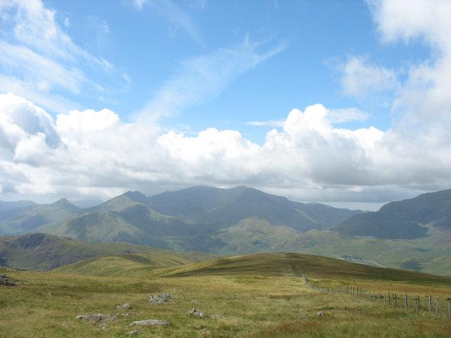 The Western Ridge of Moel Siabod - geograph.org.uk - 218784