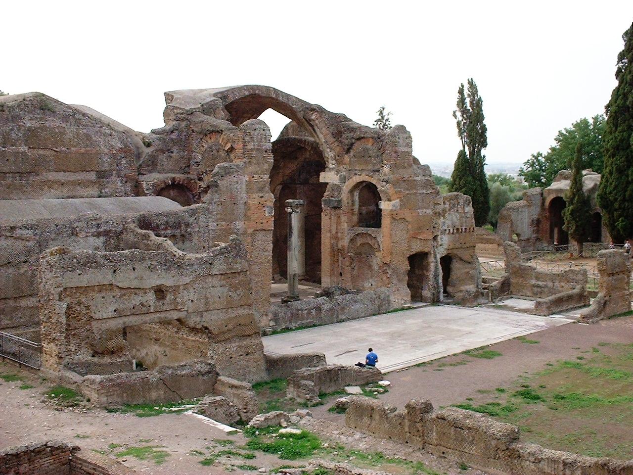 Piccole Terme Villa Adriana Ricostruzione
