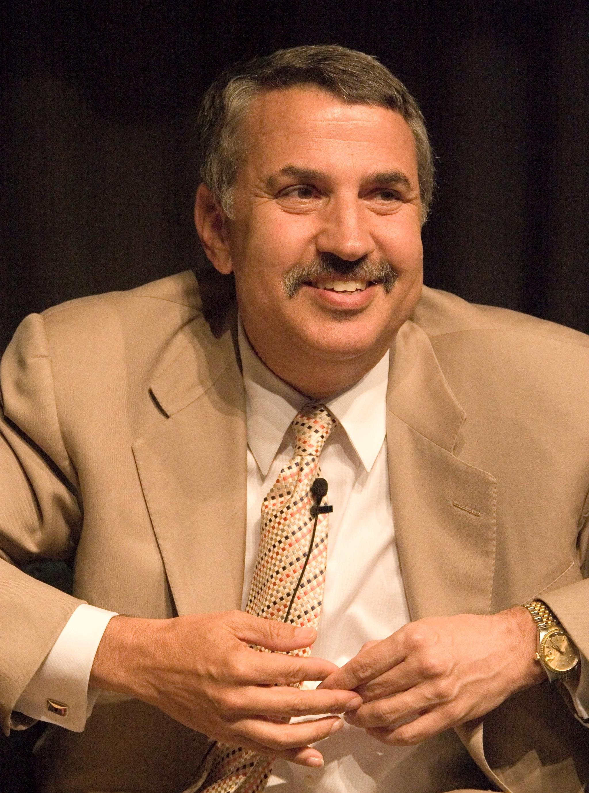 Portrait of Thomas Friedman