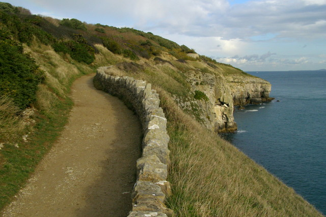 Tilly Whim Road, Durlston Country Park - geograph.org.uk - 1027154