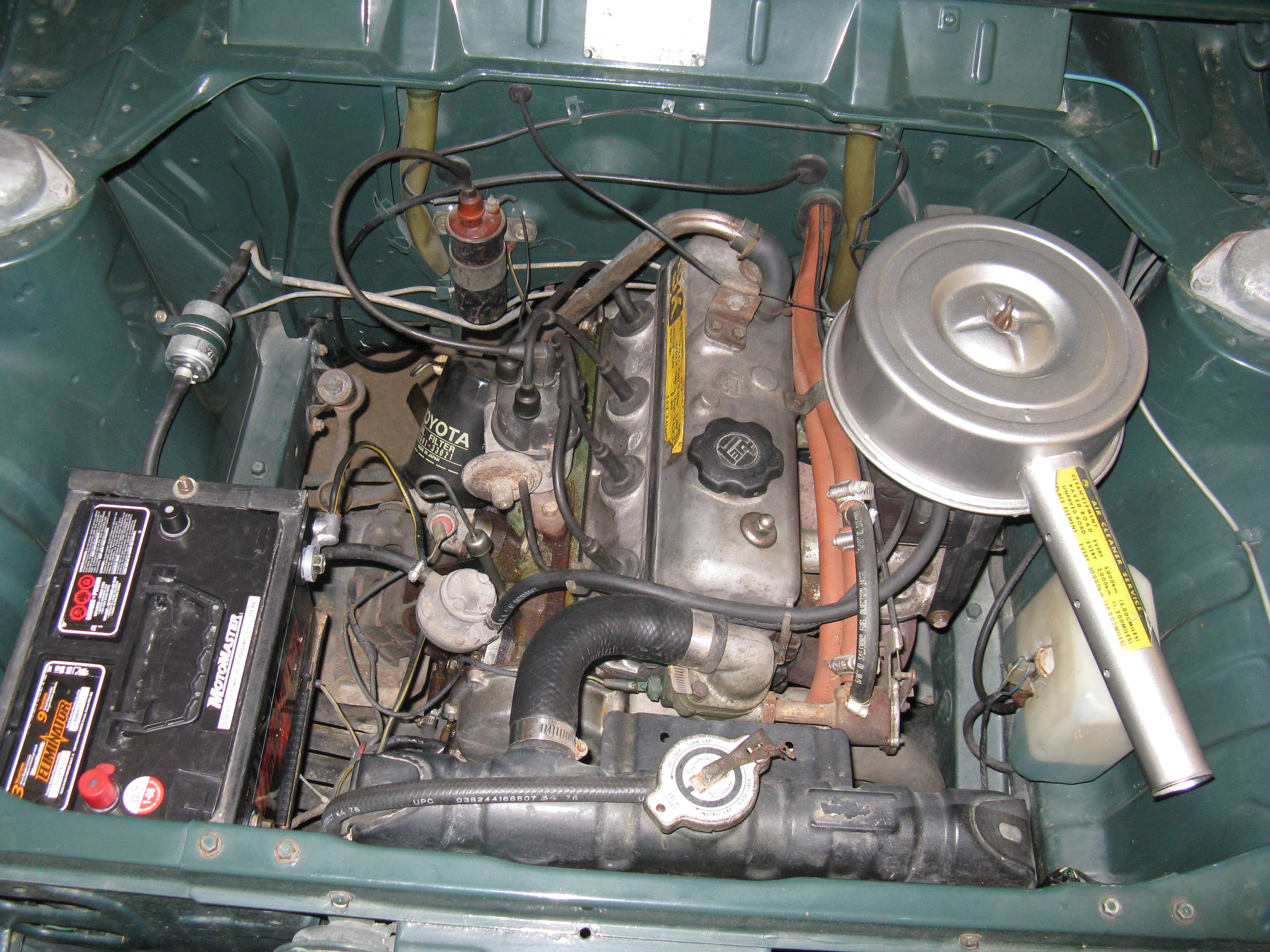 Bronx Bomber 1971 Toyota Corolla 2 Door Sedan 4 0 Engine Diagram 3k C