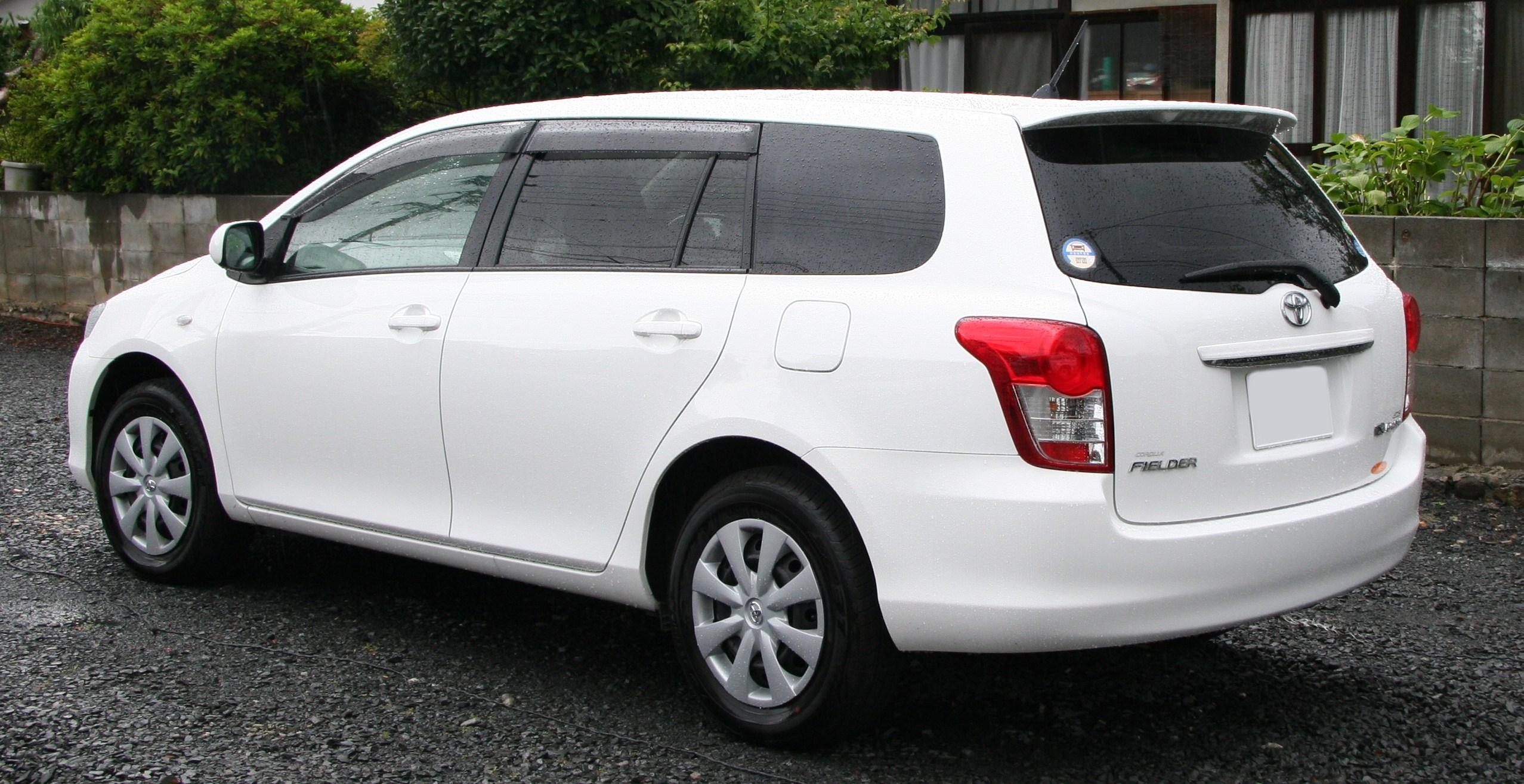 File:Toyota Corolla Fielder rear jpg - Wikimedia Commons