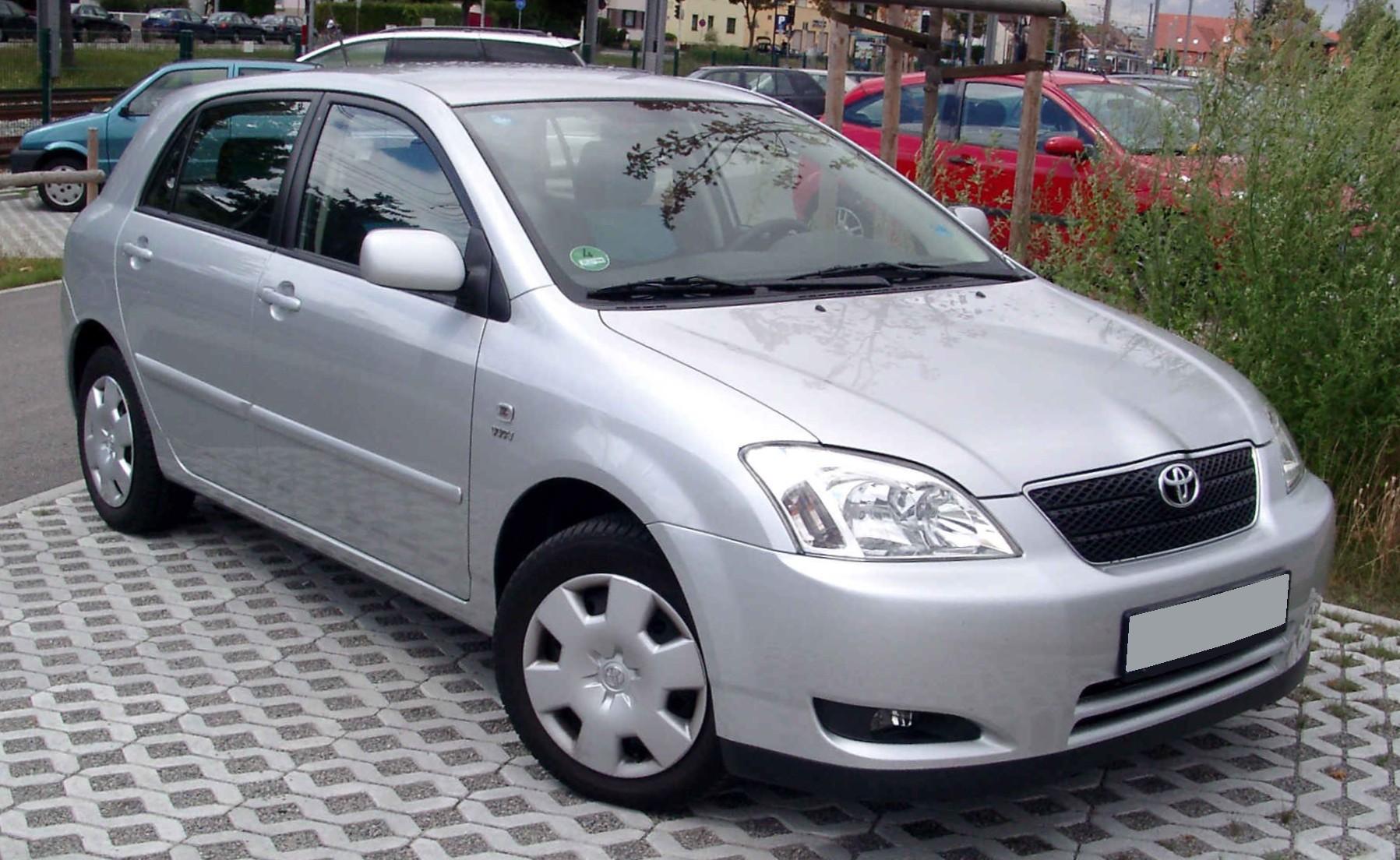 File:Toyota Corolla front 20080808.jpg - Wikimedia Commons