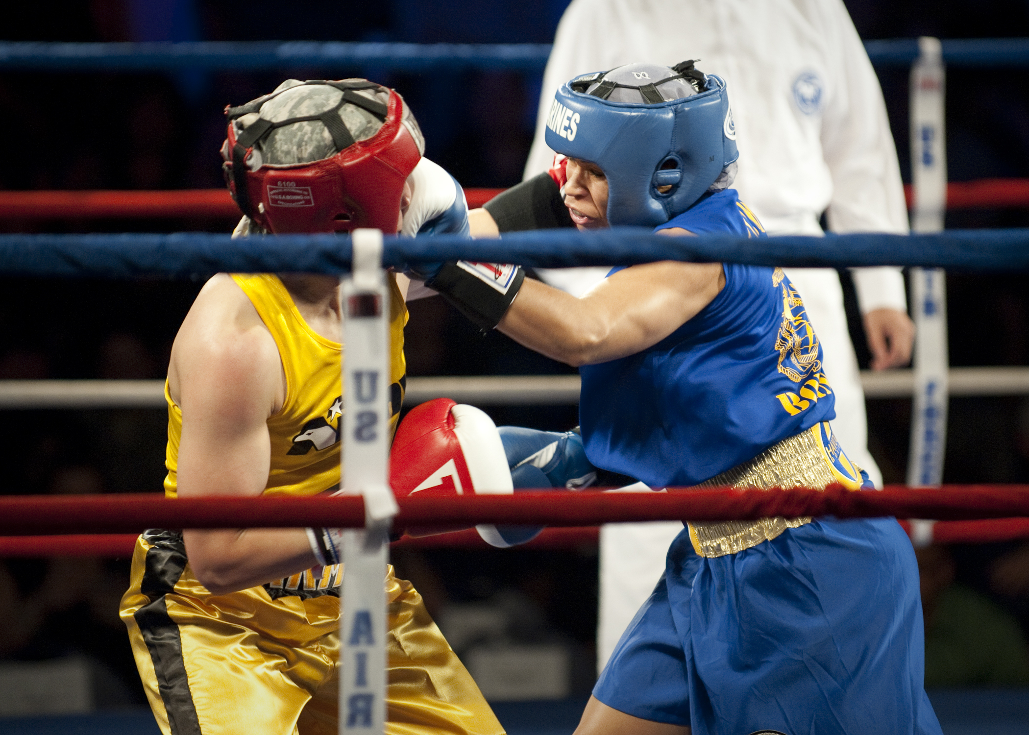 Golden gloves boxing tournament