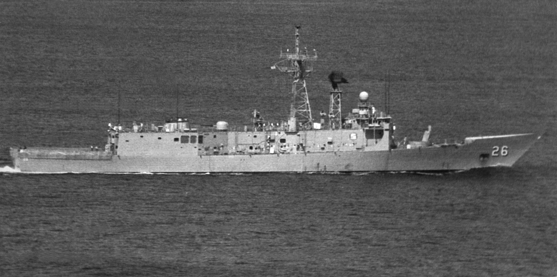 USN US Navy USS Ramsey FFG-2 Frigate T-Shirt
