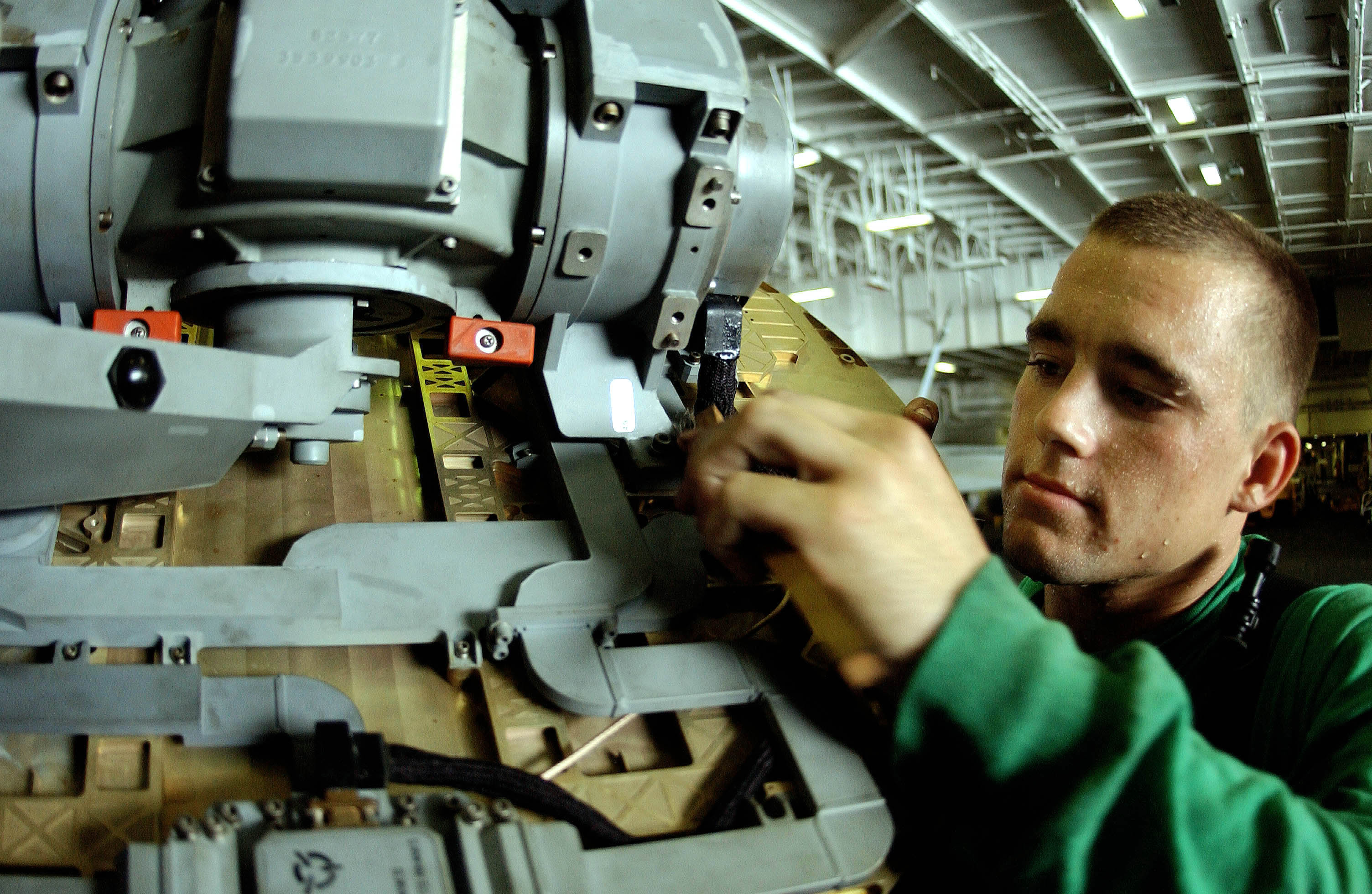 file us navy 050716 n 0413r 073 aviation electronics technician 3rd class kurtis lahr cleans a
