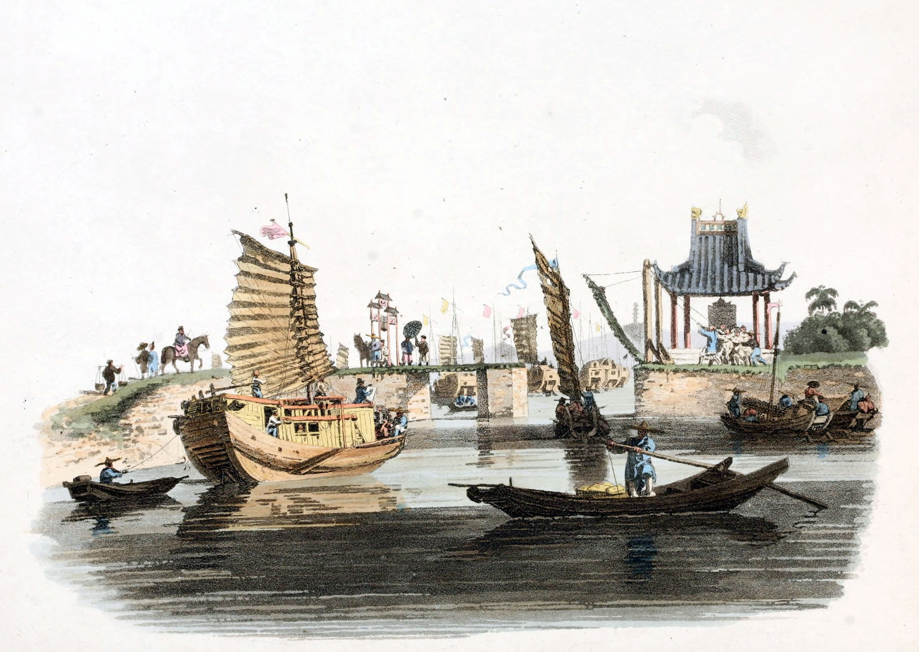 Grand Canal of China, 1793