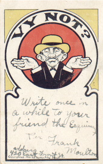 "English: ""Anti-Semitic Jewish Postcard"""