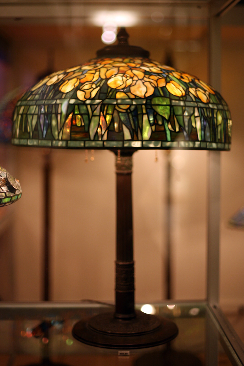 FileWLA Nyhistorical Table Lamp Tiffany Studios C1906