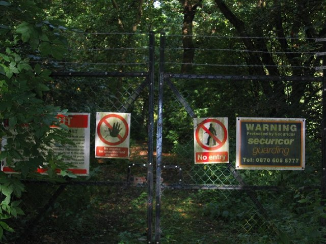 Warning Signs in Delamere Forest - geograph.org.uk - 65224