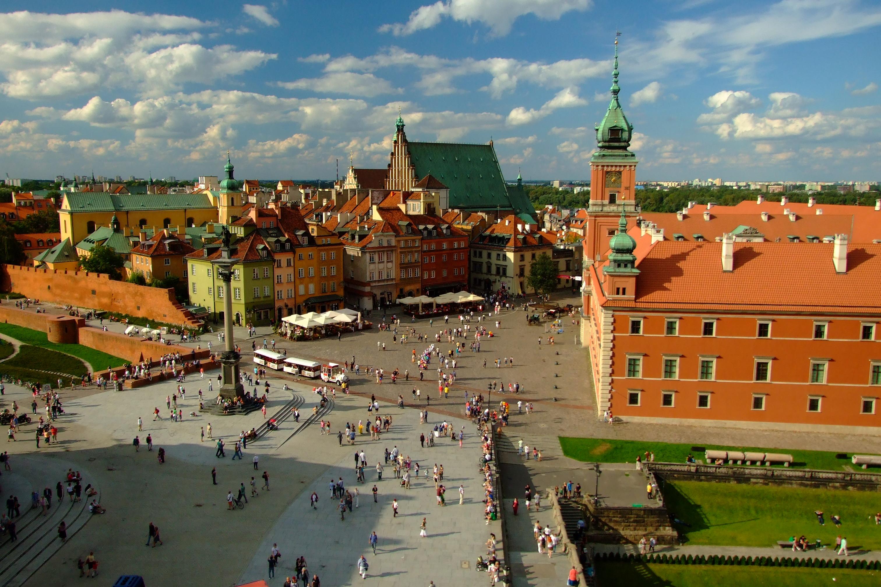 File Warszawa Widok Na Stare Miasto Jpg Wikimedia Commons