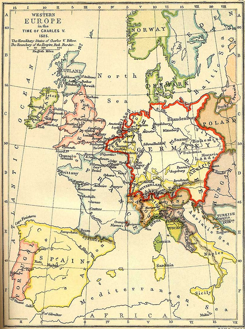 An overview of the charlemagne as the master of western europe