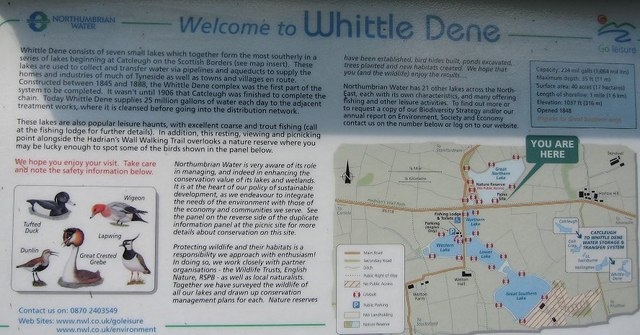 Whittle Dene Information Board - geograph.org.uk - 954473