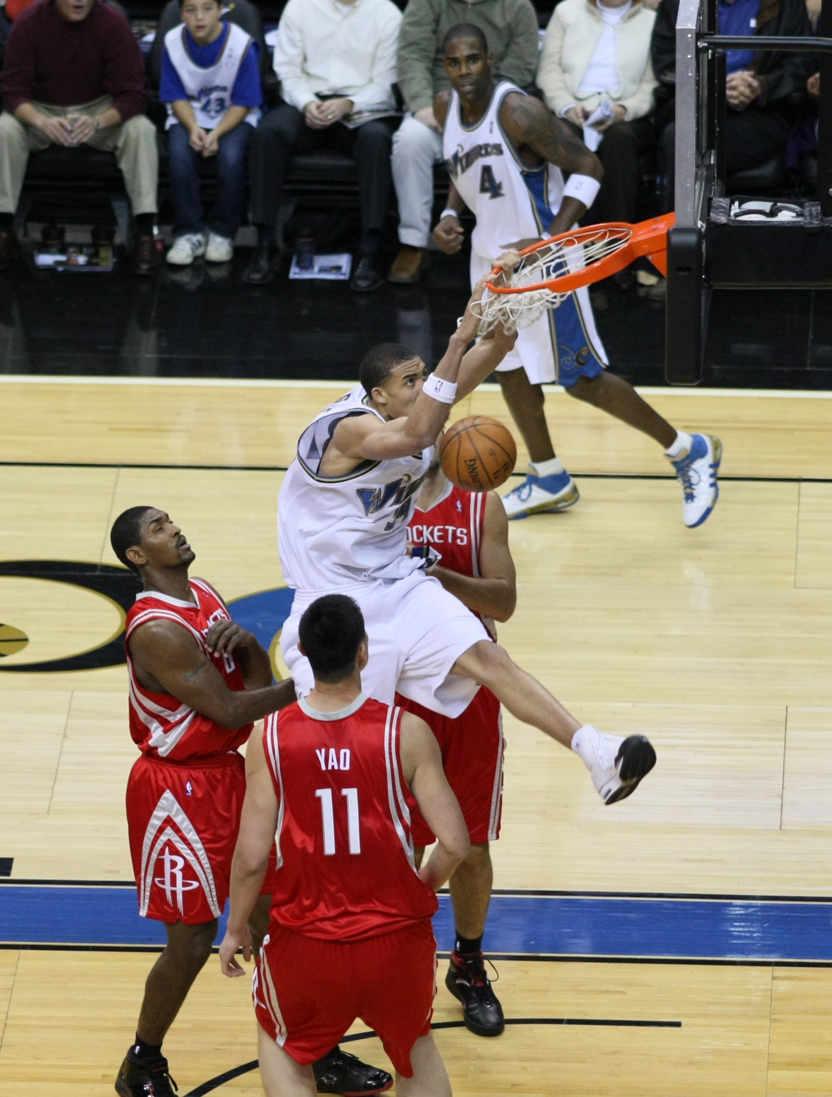 Yao Ming Dunk Without Jumping The gallery for -->...