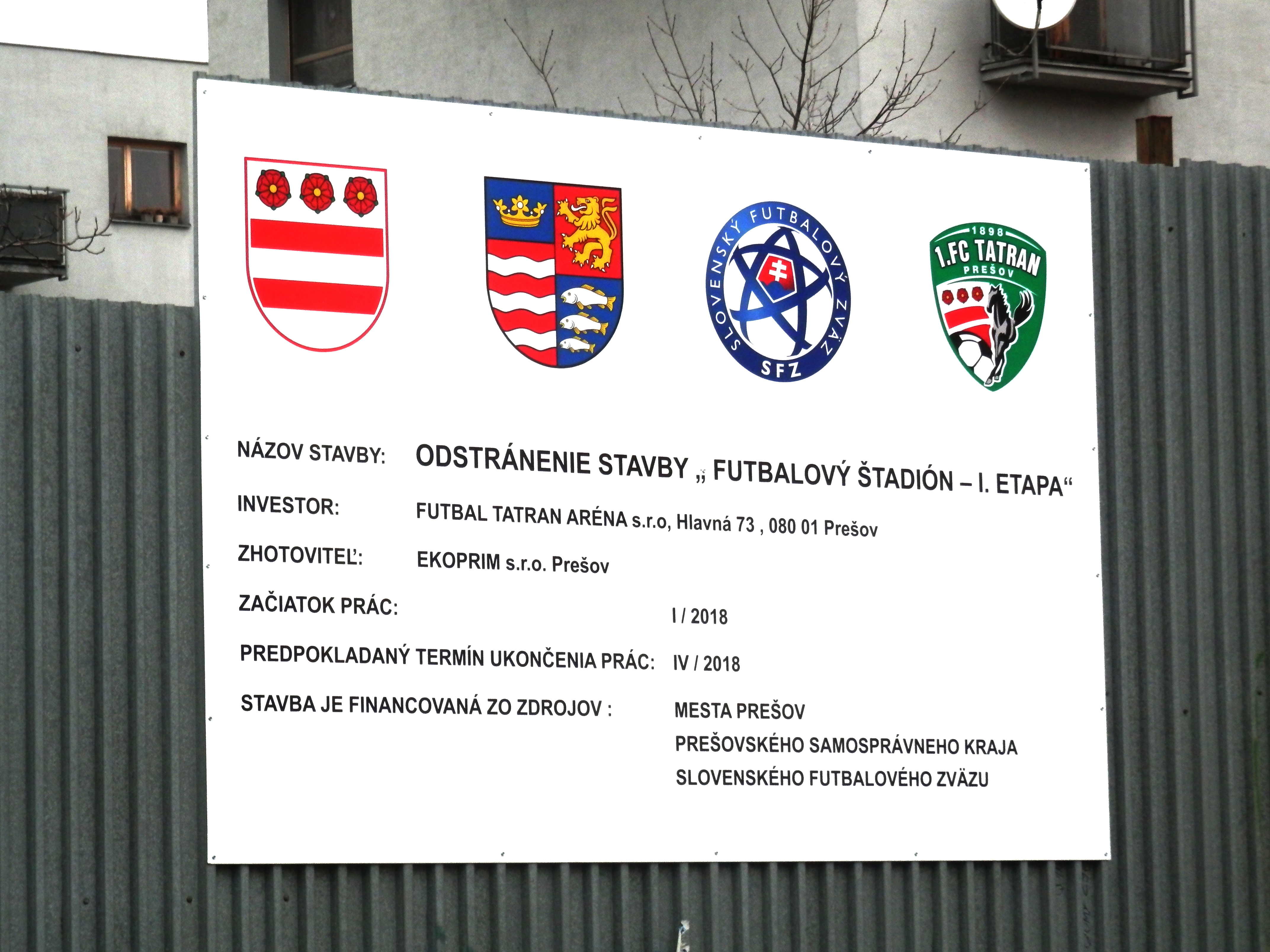 1c8601fc48 File Štadión 1. FC Tatran Prešov.jpg - Wikimedia Commons