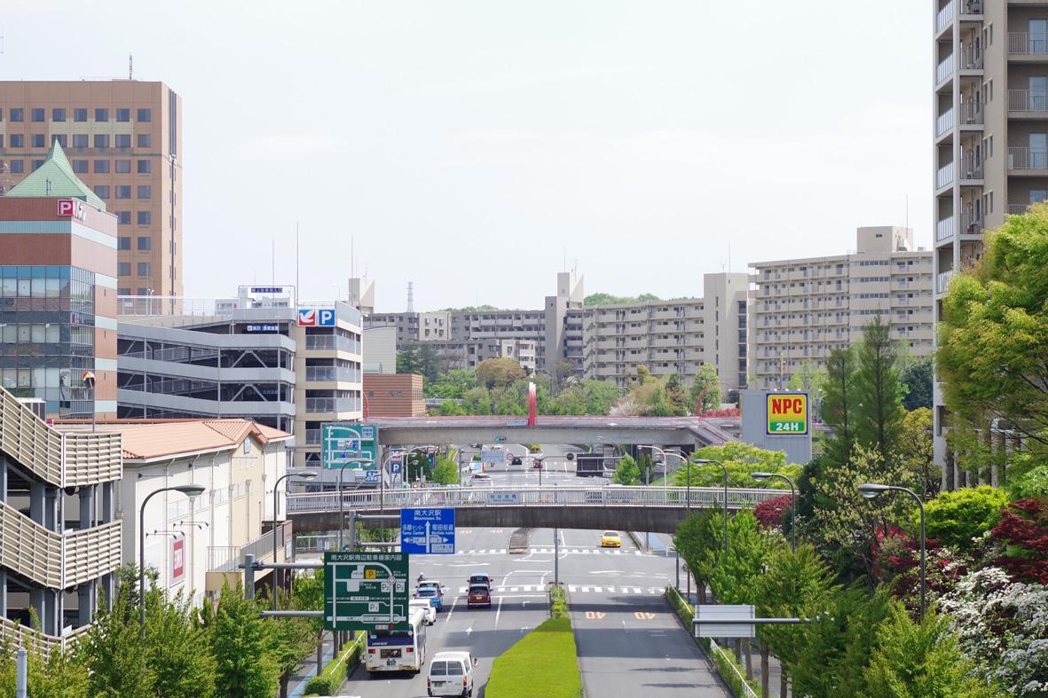 「南大沢 街並み」の画像検索結果