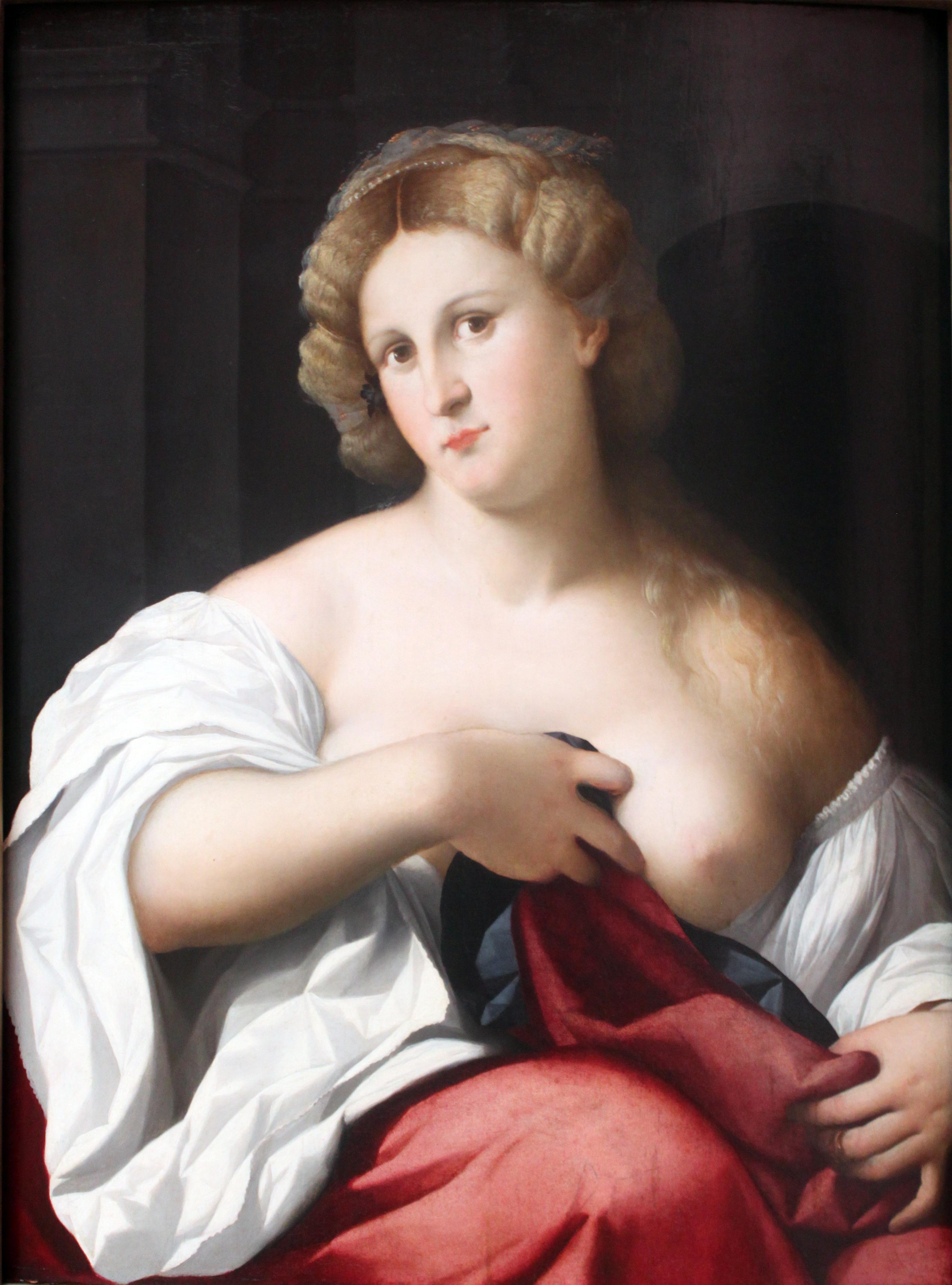 Renaissance bare erotic image