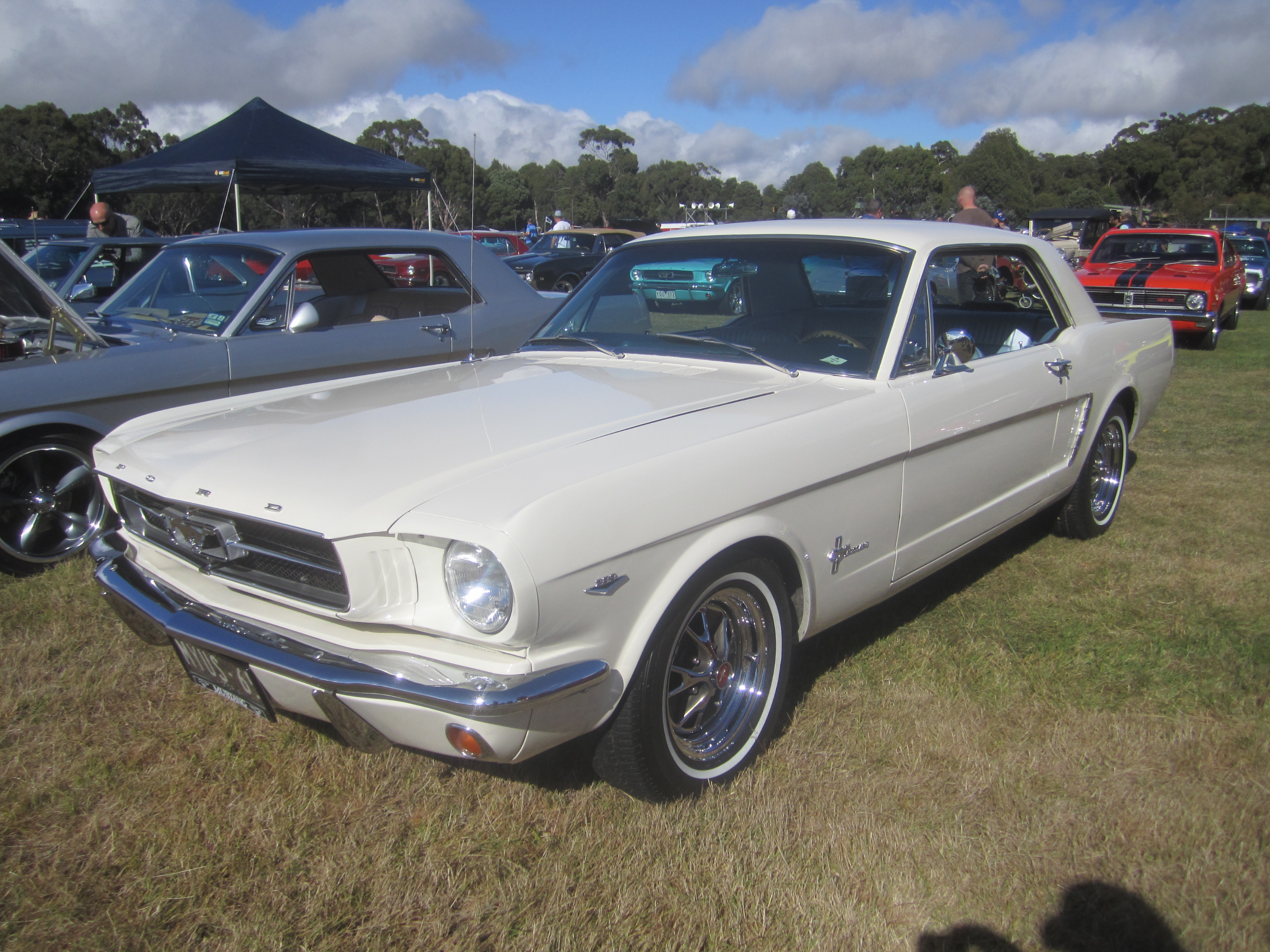 1965 ford mustang: