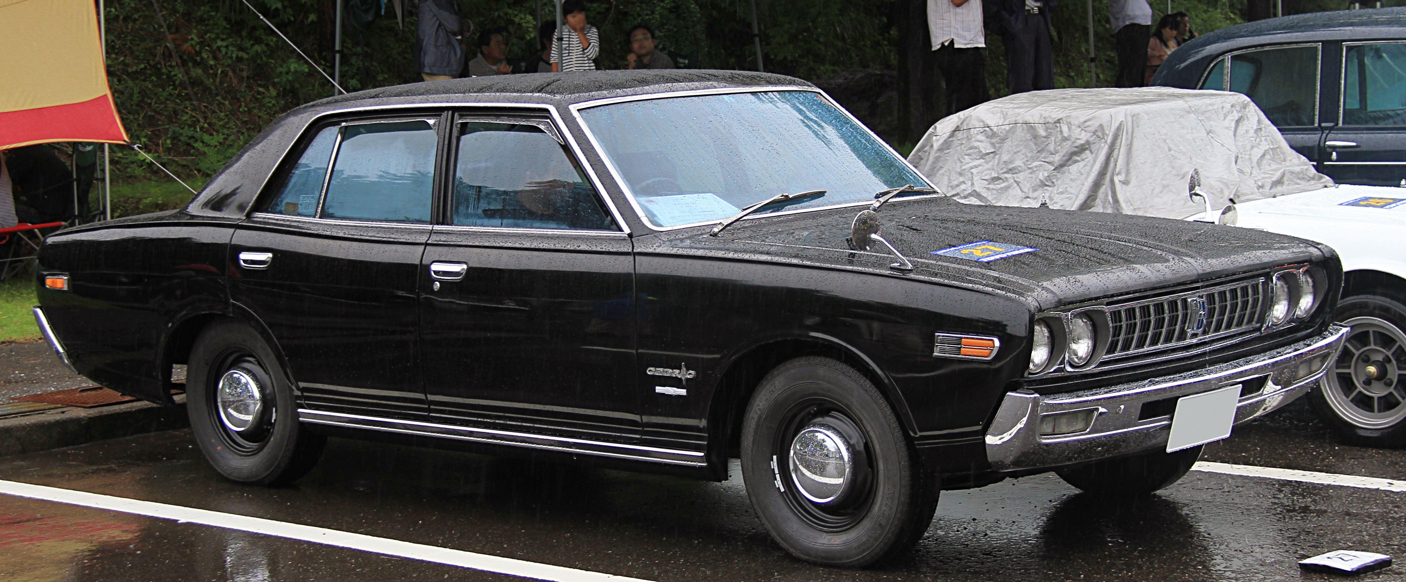 File 1971 Nissan Cedric 2000 Deluxe Jpg Wikimedia Commons