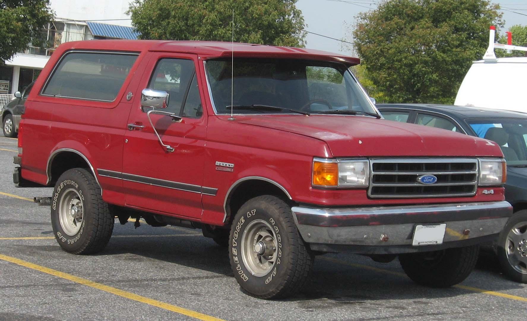 87 ford bronco truck repair advice. Black Bedroom Furniture Sets. Home Design Ideas