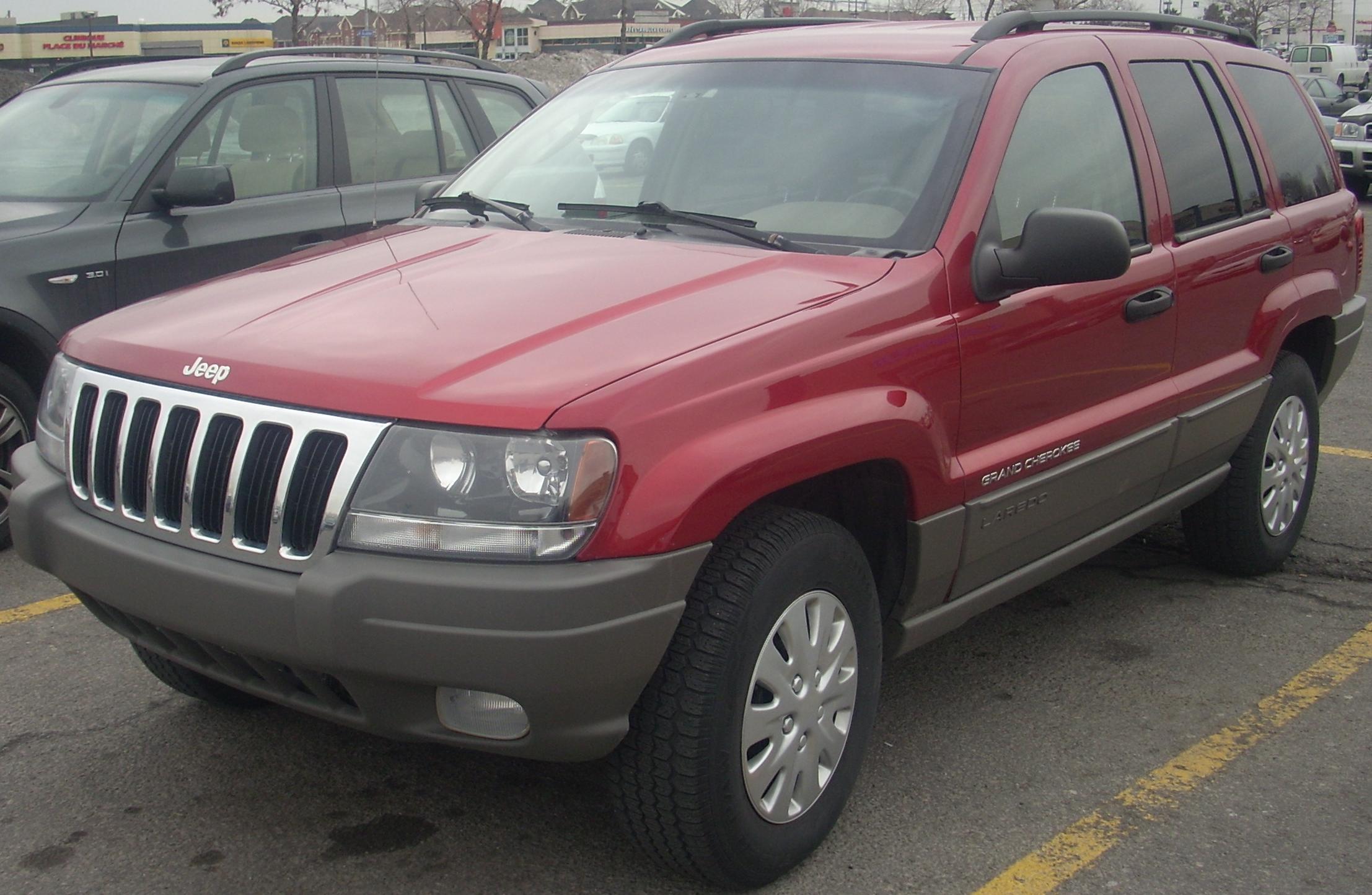 Good Ficheiro:1999 03 Jeep Grand Cherokee Laredo.JPG