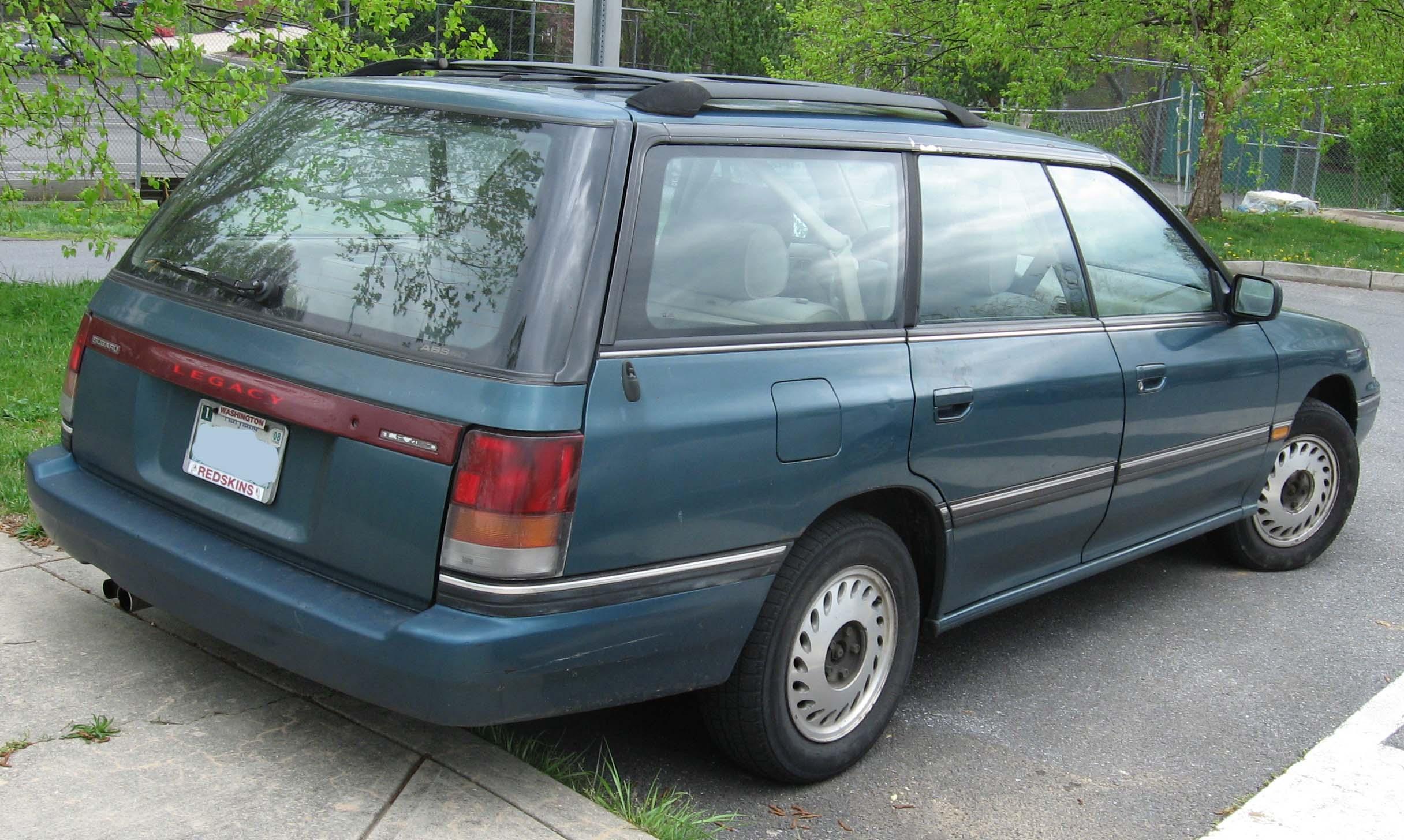 File 1st Subaru Legacy Wagon Rear Jpg Wikimedia Commons