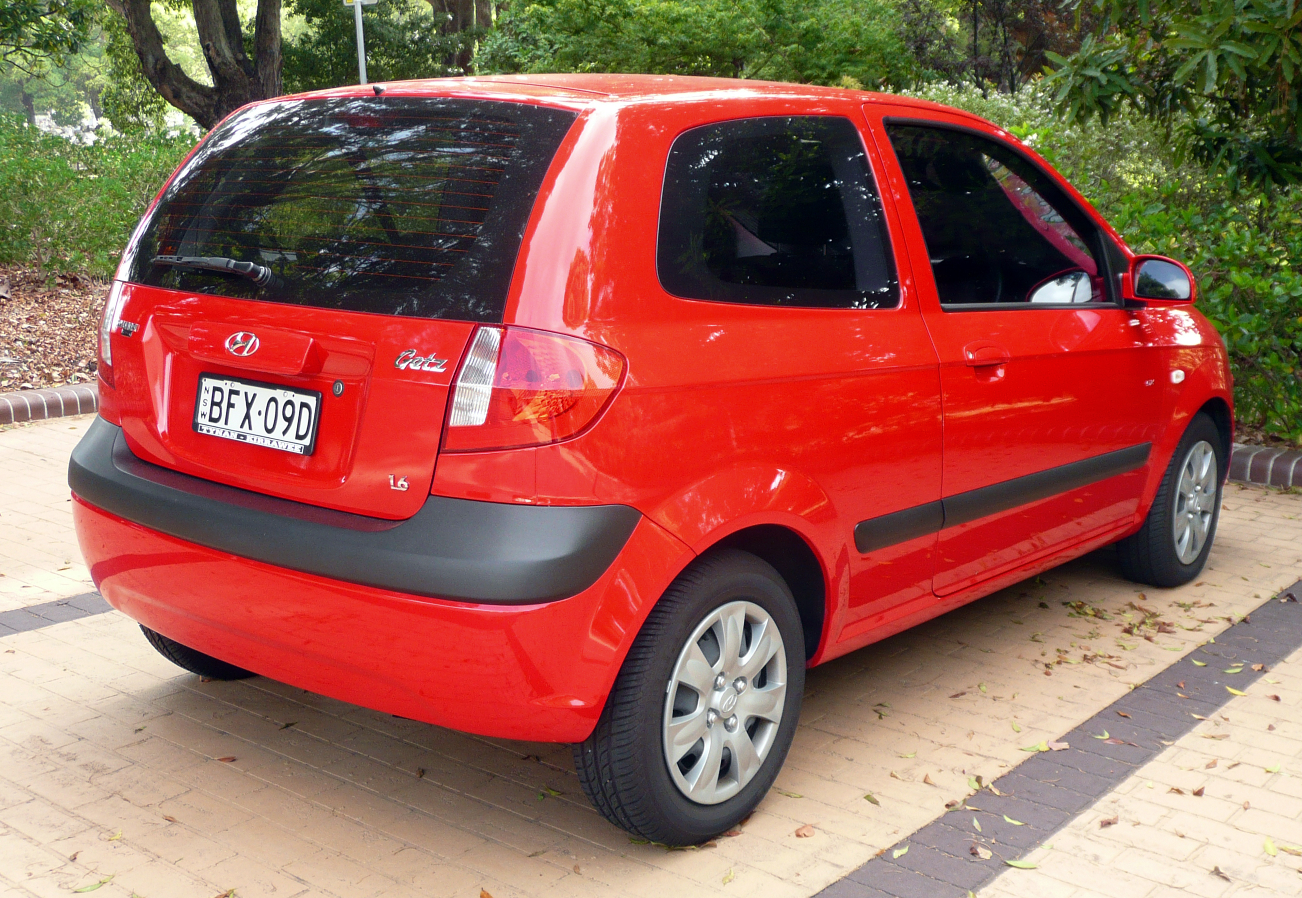 file 2008 hyundai getz tb my09 sx 3 door hatchback 2009. Black Bedroom Furniture Sets. Home Design Ideas
