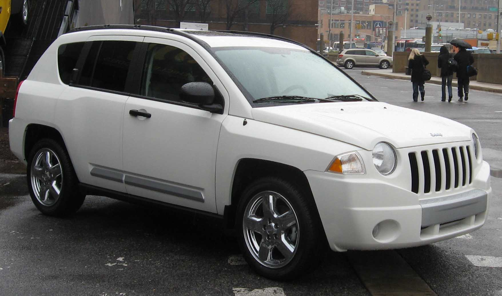 White Jeep Patriot >> File:2008 Jeep Compass.jpg - Wikimedia Commons