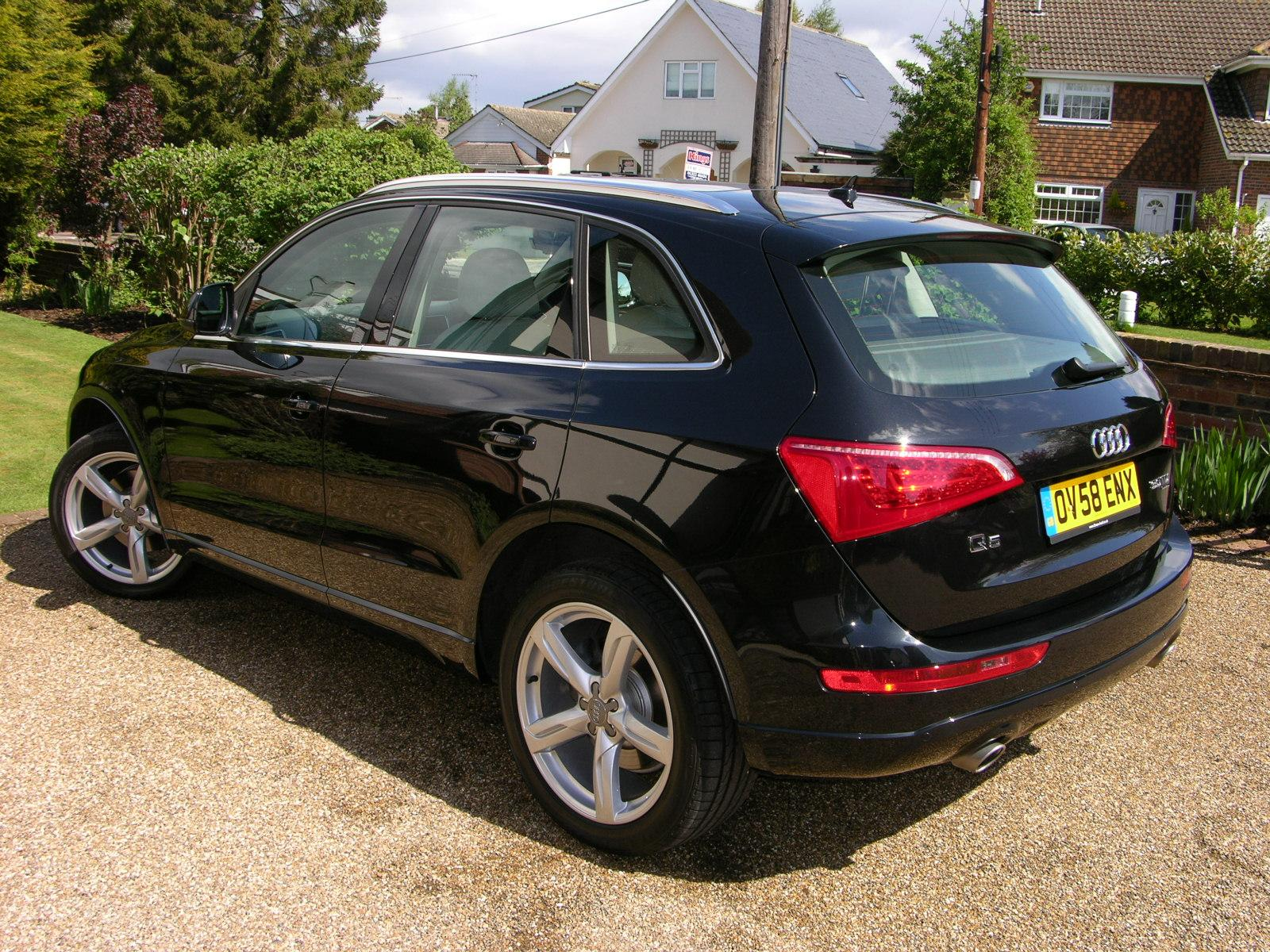 Audi Q5 Wikipedia >> File:2009 Audi Q5 SE TDi Quattro - Flickr - The Car Spy ...