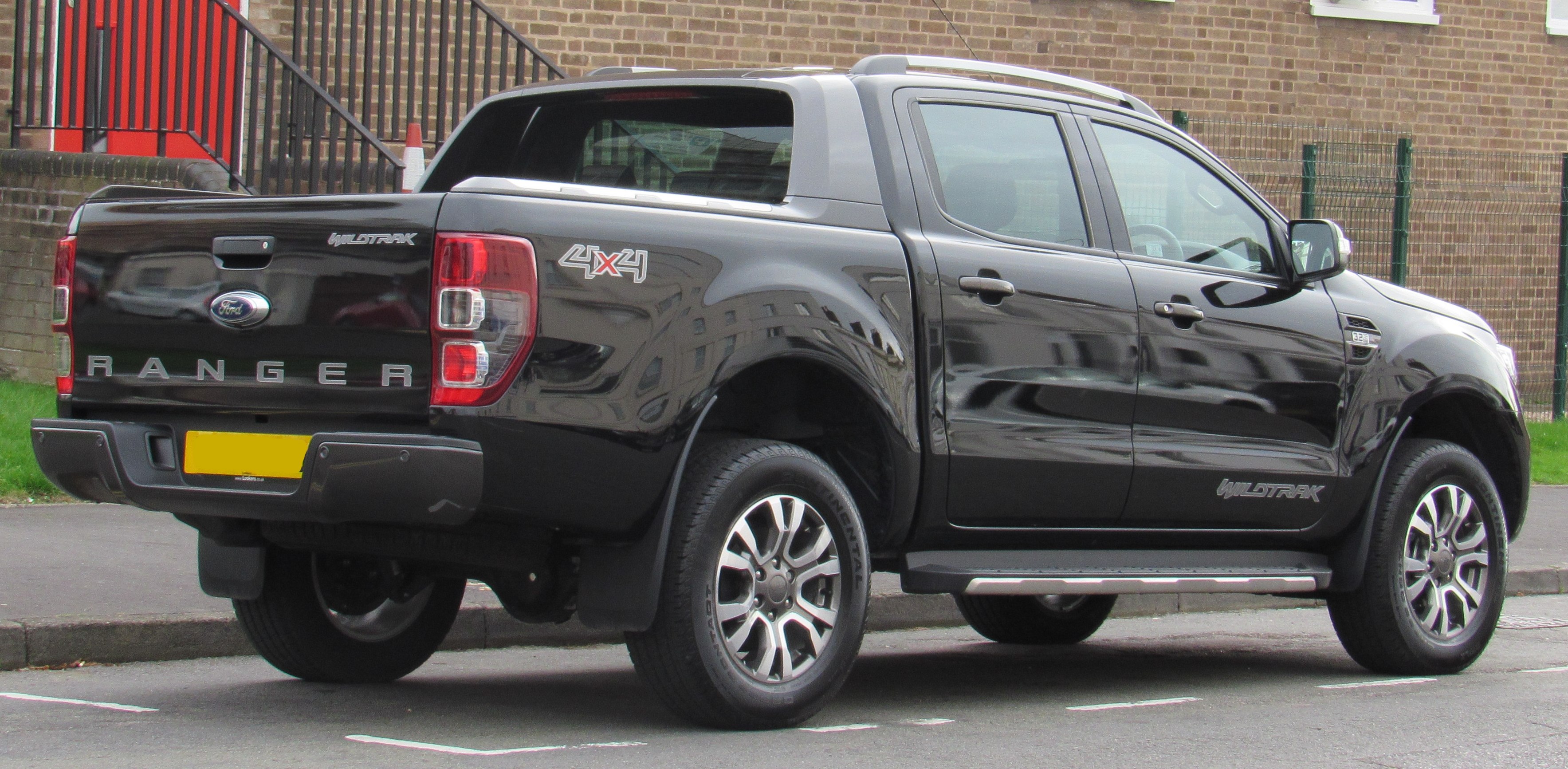 2017 Ford Ranger >> File 2017 Ford Ranger Wildtrak 4x4 Facelift 3 2 Rear Jpg Wikimedia