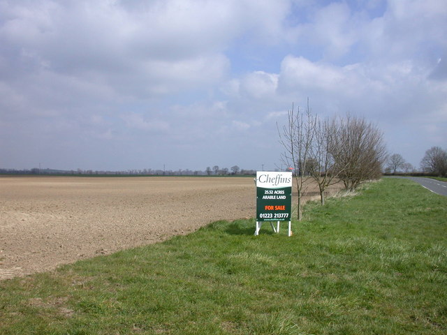 File25 52 Acres Arable Land For Sale Geograph Org Uk 749680
