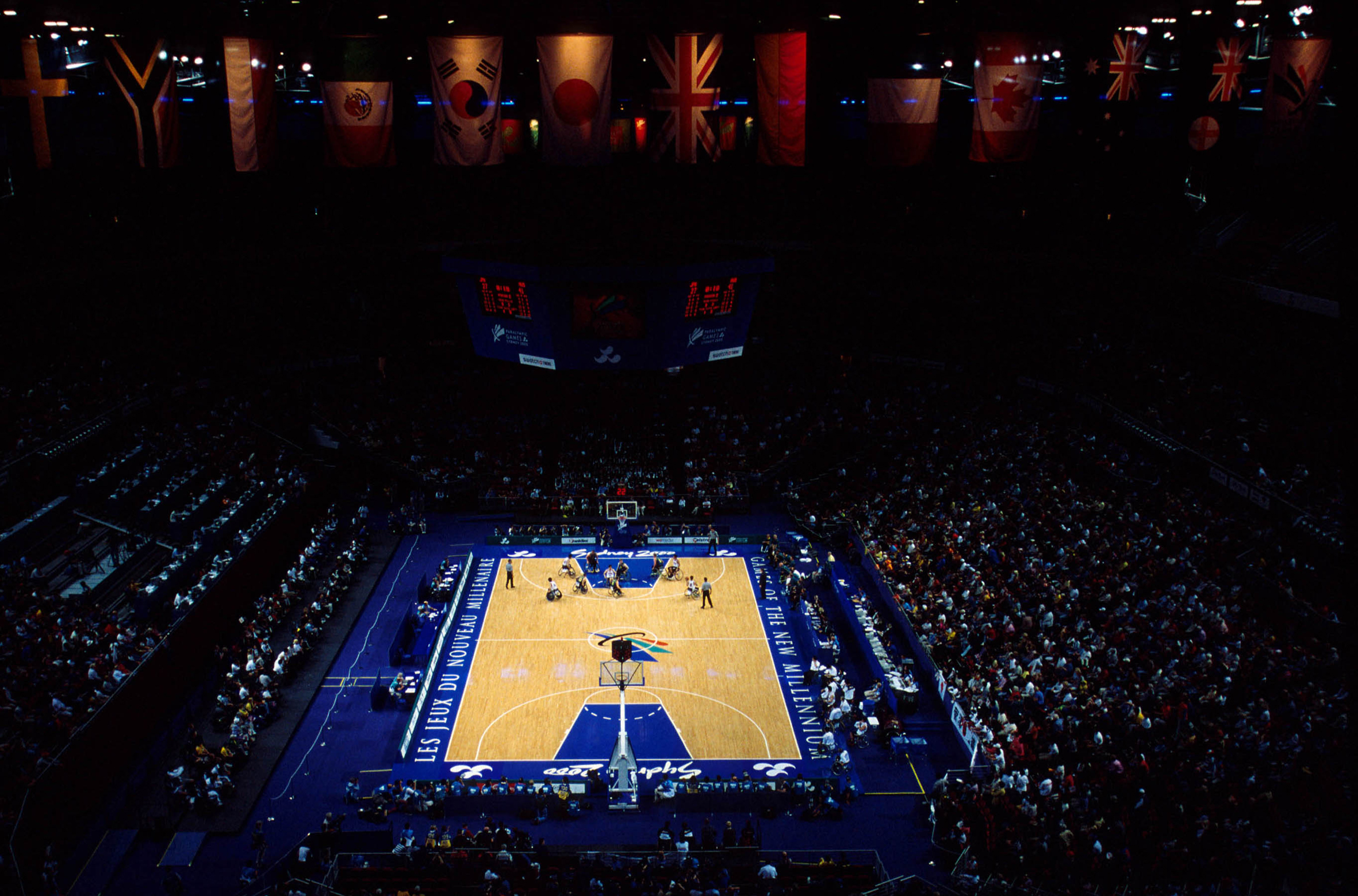 File:251000 - Wheelchair basketball Superdome view - 3b ...