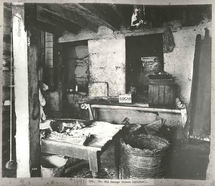 York Antique White Kitchen