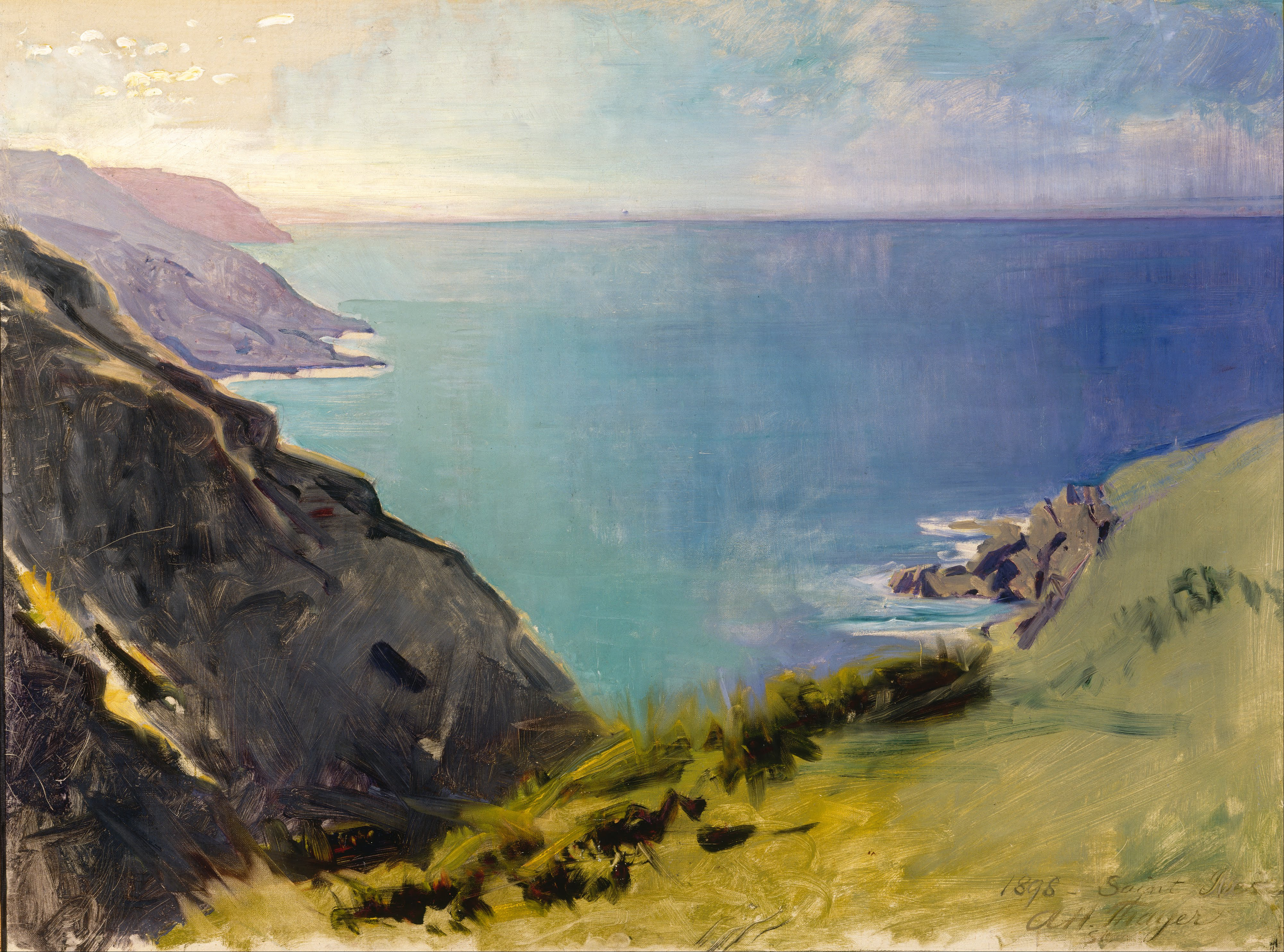 File:Abbott Handerson Thayer - Cornish Headlands - Google ...