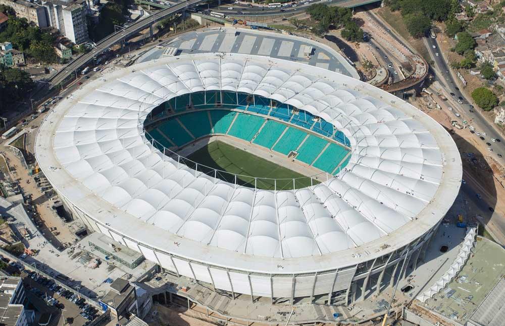 Arena Fonte Nova - Top 10 Maiores Estádios de Futebol do Brasil