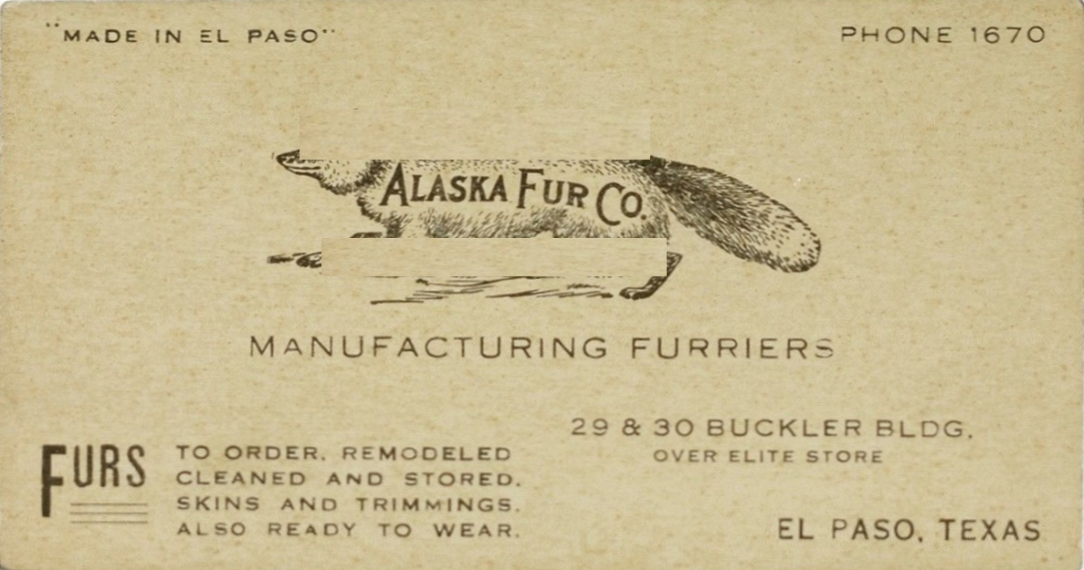 Filealaska fur co el paso texas business cardg wikimedia filealaska fur co el paso texas business cardg reheart Image collections