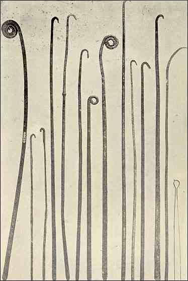 Egyptian mummification tools