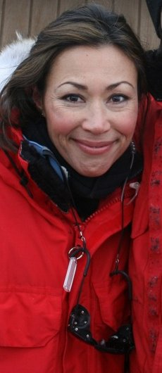 Ann Curry in Antarctica 02