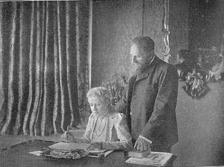 А. Безант и Ч. Ледбитер в Лондоне (1901).