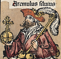 Aremulus Silvius from Nuremberg chronicles.png