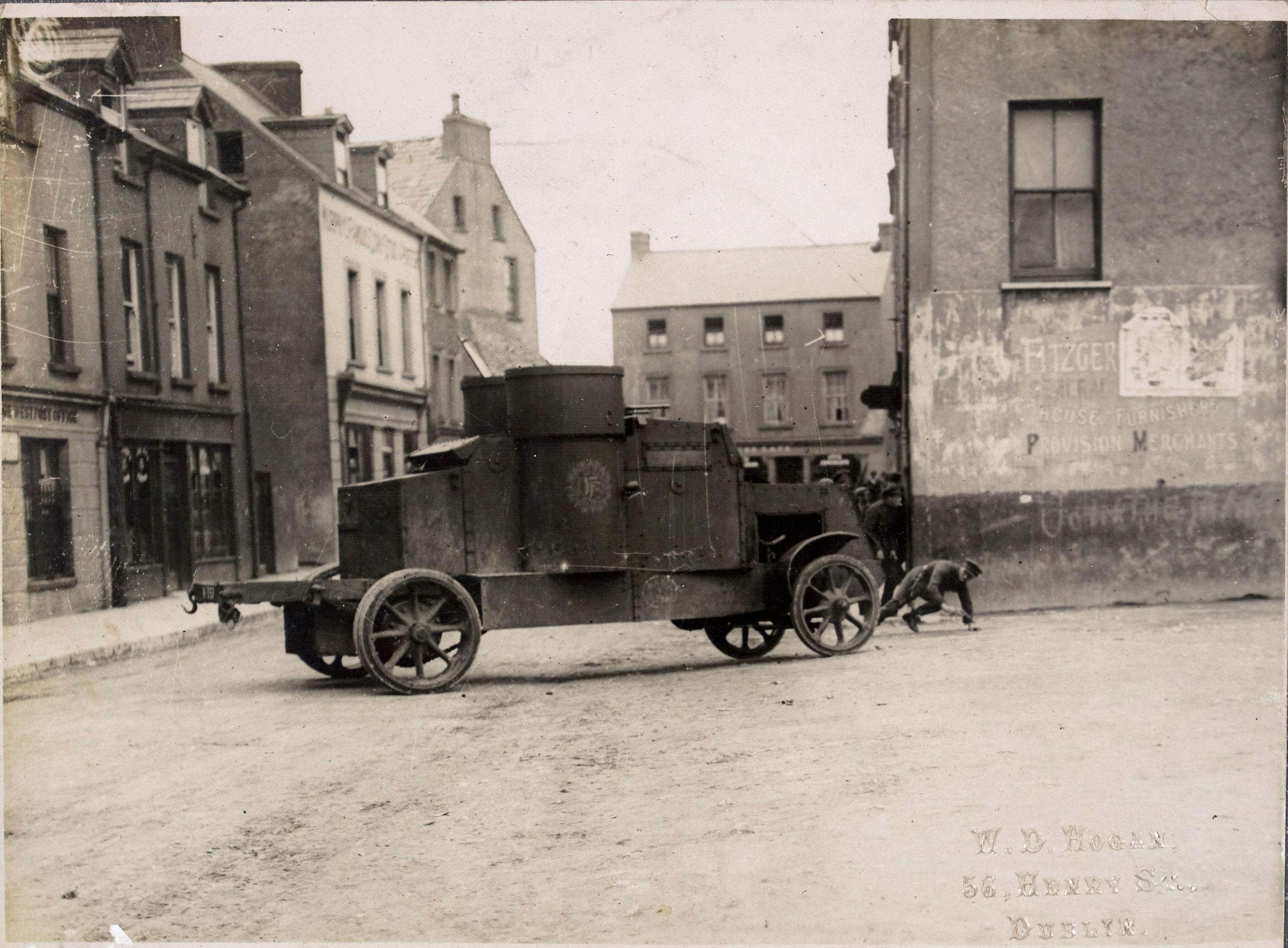 peerless armoured car