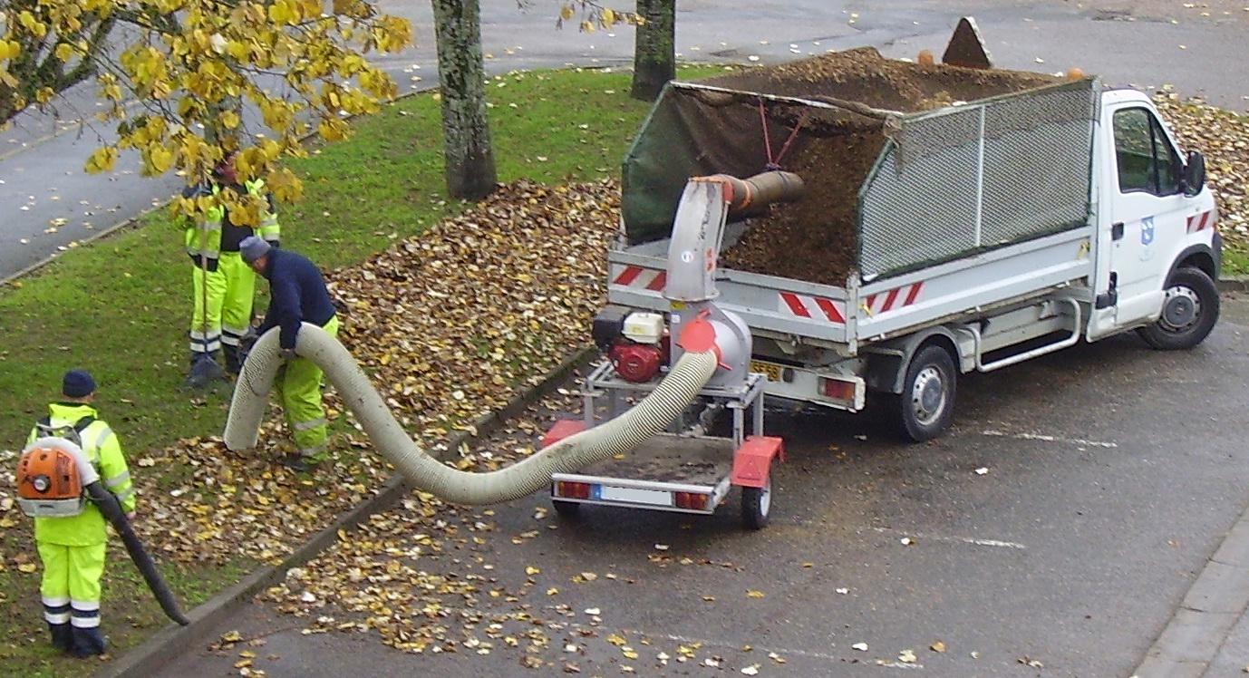 aspirateur souffleur feuilles