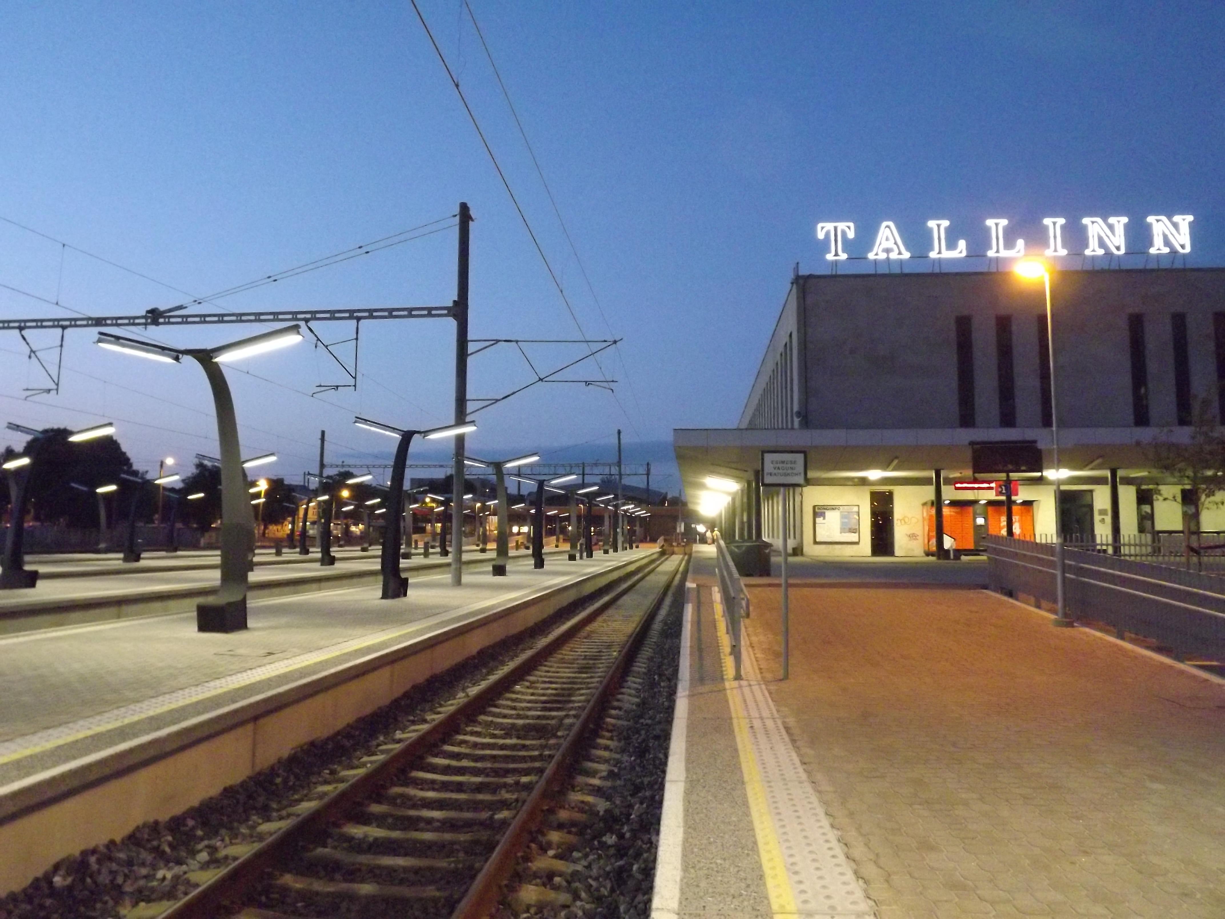 c4d655252dd Vaade Balti jaamale kaugliinide perroonilt