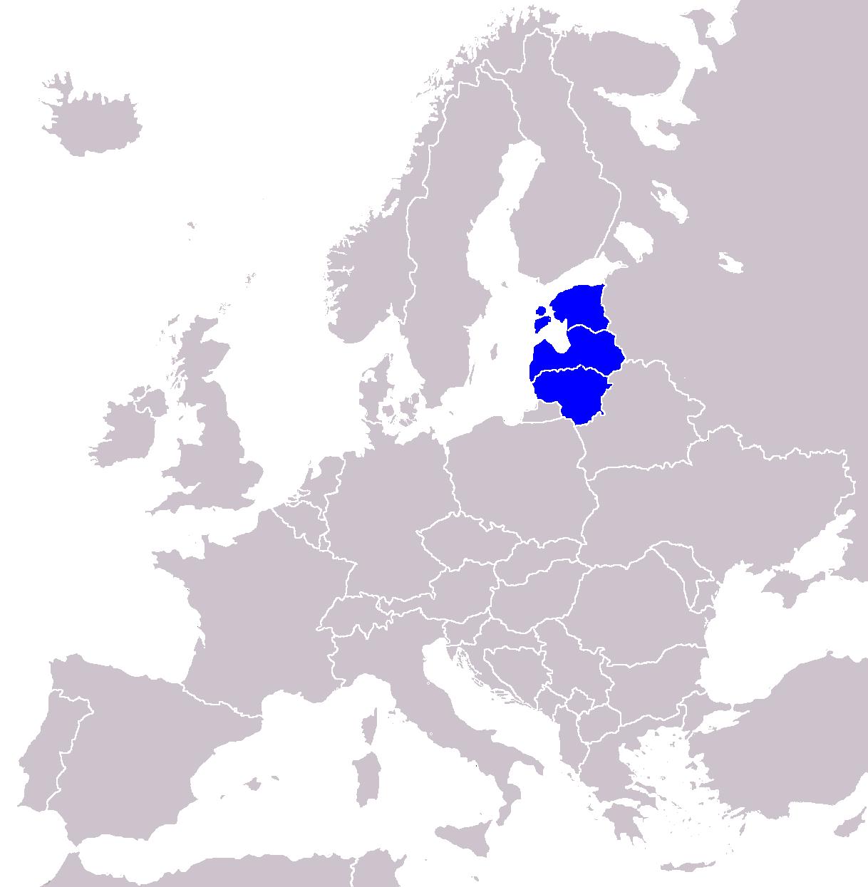 Repúblicas Bálticas (Estonia, Letonia y Lituania)