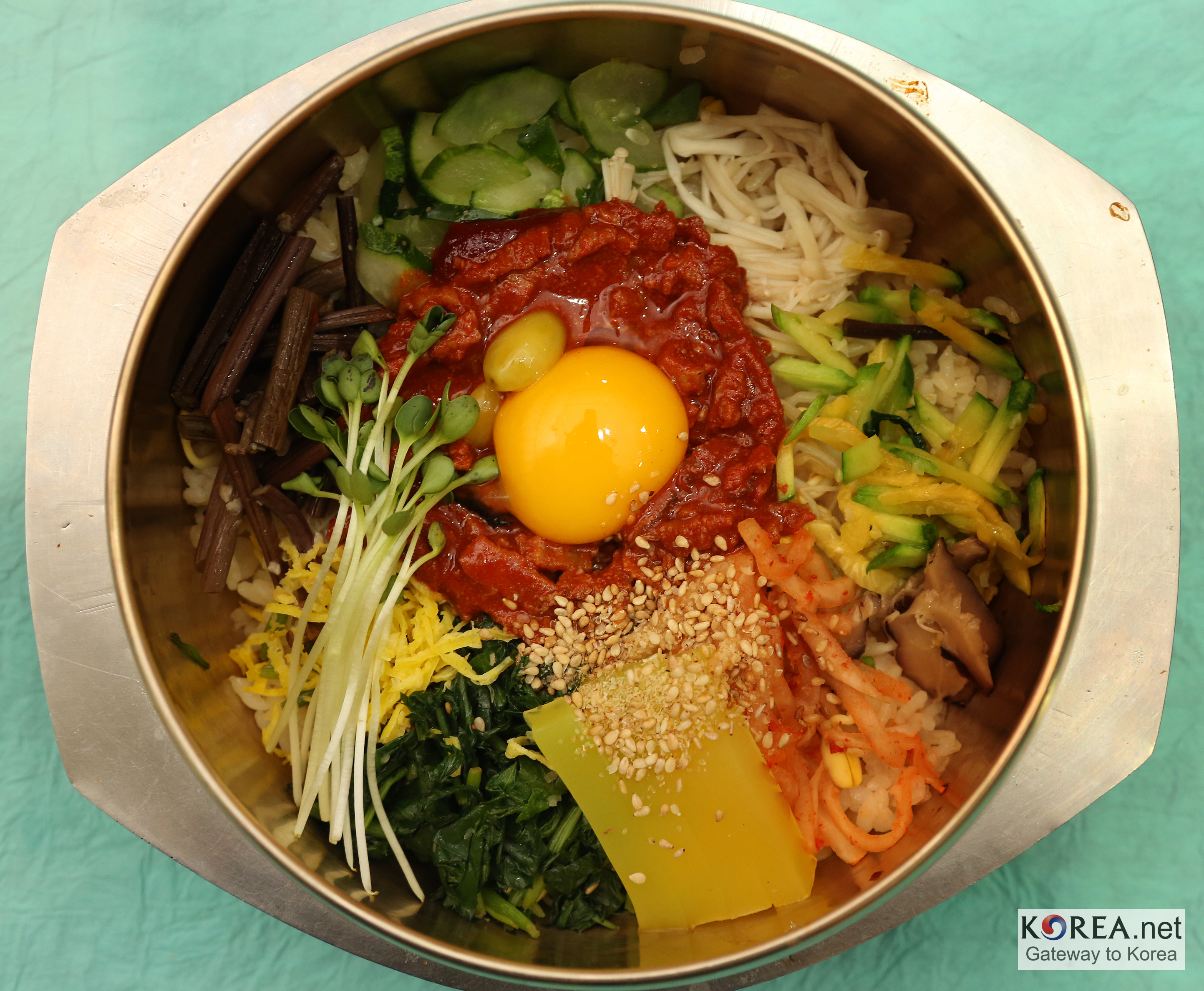 Mixing Bibimbap | Our Foods And Cuisines